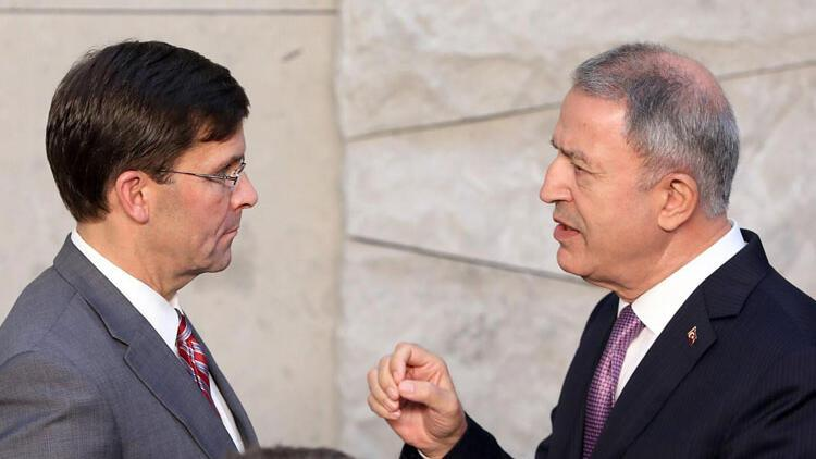 Son dakika... Bakan Akar'dan kritik görüşme! ABD heyeti Ankara'ya geliyor