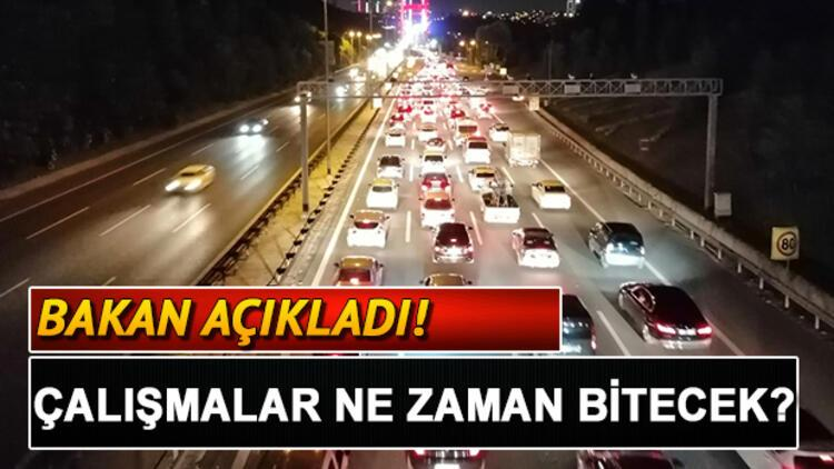 Fatih Sultan Mehmet Köprüsü'ndeki (FSM) çalışmaları ne zaman bitecek? Bakan açıkladı!