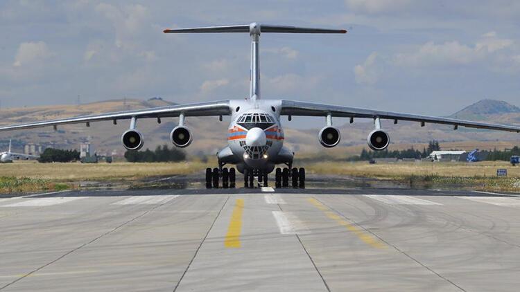 Son dakika: S-400 sevkiyatında on ikinci  uçak da iniş yaptı