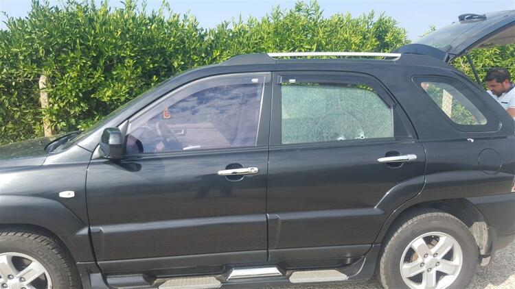 Lüks otomobile silahlı saldırı