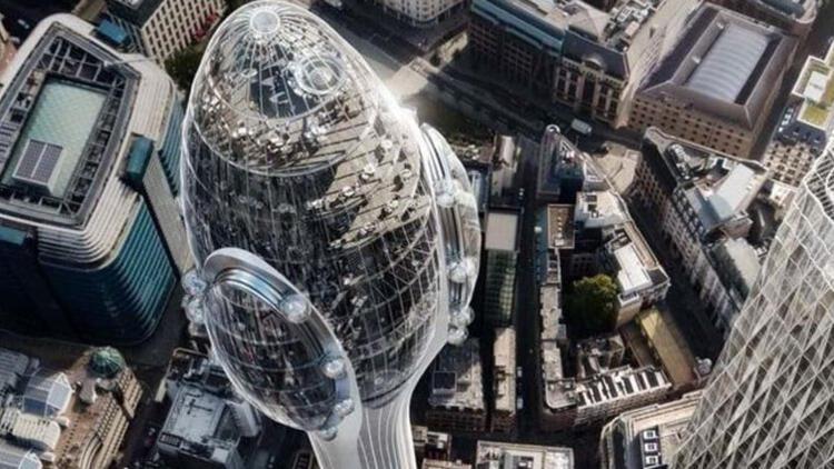 Londra'nın siluetini bozacak 'Lale Gökdelen'i başkan istemiyor