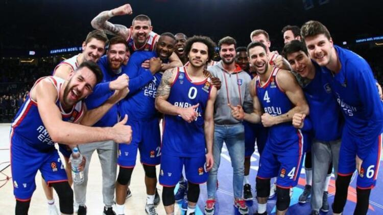 Anadolu Efes'in Euroleague fikstürü belli oldu
