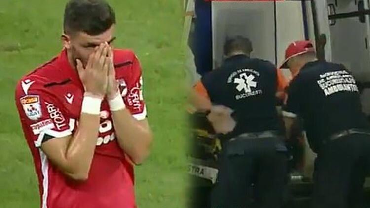 Dinamo Bükreş'in hocası maçta kalp krizi geçirdi
