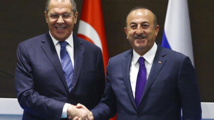 Son dakika... Bakan Çavuşoğlu, Rus mevkidaşı Lavrov'la görüştü