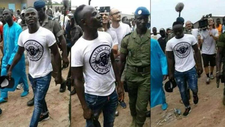 Futbolcular tatilde, Sadio Mane şantiyede! Doğup büyüdüğü toprakları unutmadı…