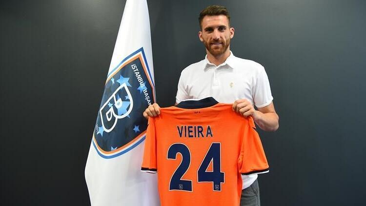 Başakşehir'in yeni transferi Vieira, sağlık kontrolünden geçti