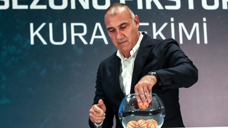 Son Dakika: Basketbol Süper Ligi'nde 2019-2020 fikstürü çekildi