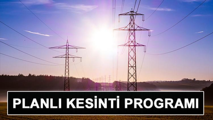 Elektrikler ne zaman gelecek? 31 Temmuz İstanbul planlı elektrik kesintileri