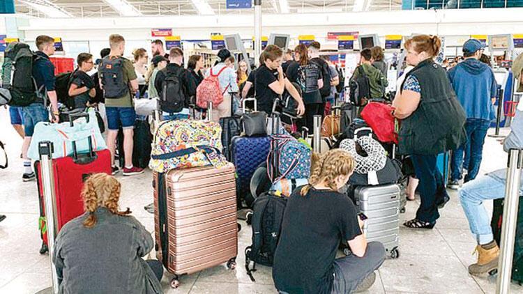 Heathrow'da grev planları altüst etti