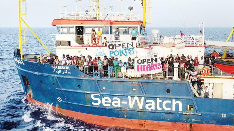 Göçmen getirene 1 milyon Euro ceza