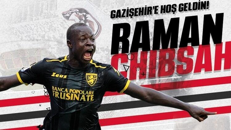 Raman Chibsah, Gazişehir Gaziantep'te! | Transfer haberleri...