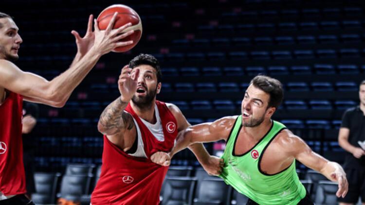 A Milli Erkek Basketbol Takımımız'ın Dünya Kupası hazırlıkları sürüyor