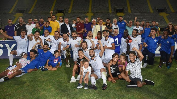Menemenspor, TSYD Kupası zaferiyle morallendi!