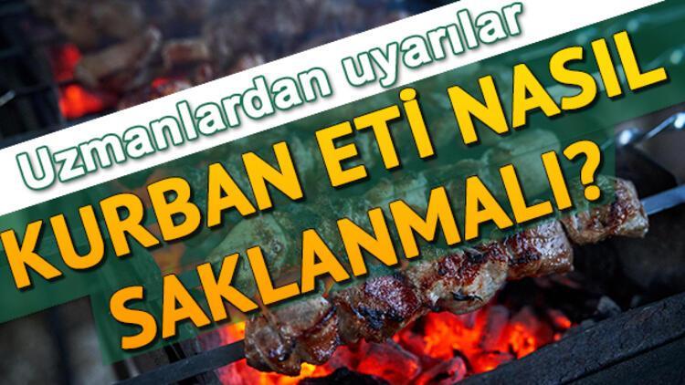 Kurban eti nasıl saklanır? Kurban etini muhafaza ederken bu hataları yapmayın!