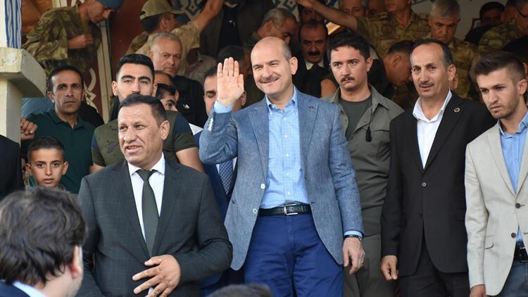 İçişleri Bakanı Soylu Hakkari'de