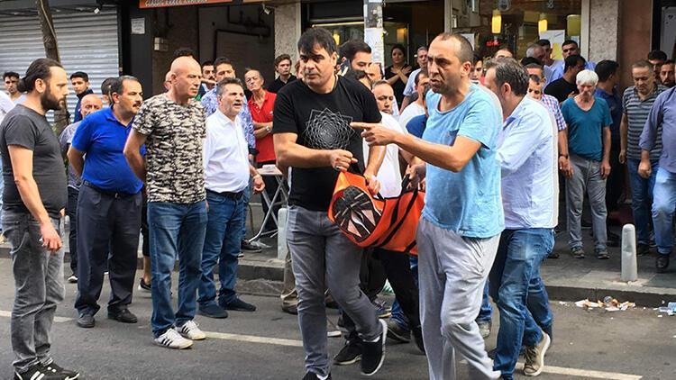 İstanbul'da hareketli dakikalar! Ateş açarak durduruldu