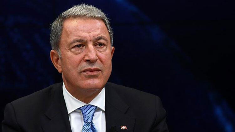Son dakika... Bakan Akar'dan Doğu Akdeniz açıklaması