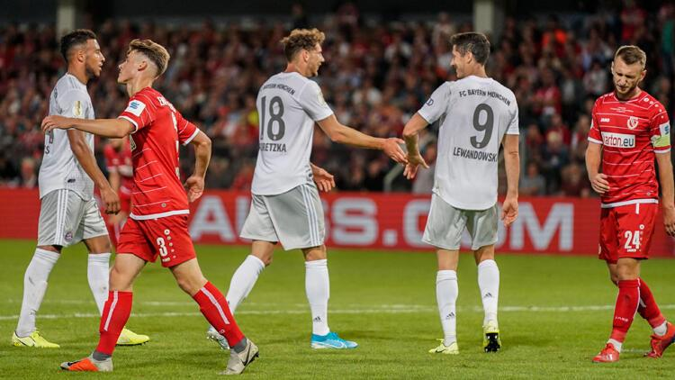 Bayern Münih kupada turladı