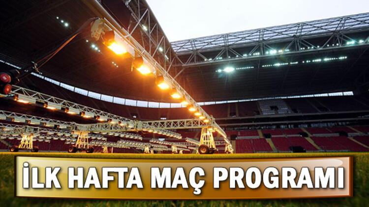 Süper Lig ilk hafta maçları ne zaman başlayacak? İlk hafta programı belli oldu