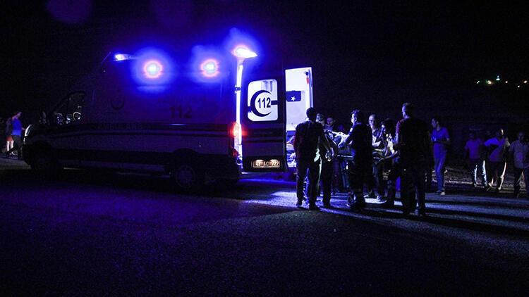 Kütahya'da feci kaza... Otomobil karşıya geçmeye çalışan yayalara çarptı