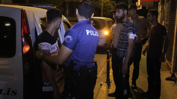 Suriyeli iki grup arasında bıçaklı kavga: 1'i ağır 3 yaralı