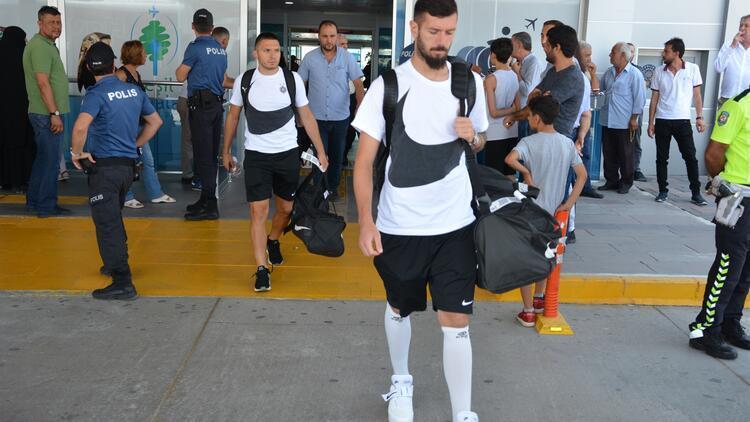 Partizan kafilesi Malatya'ya geldi!