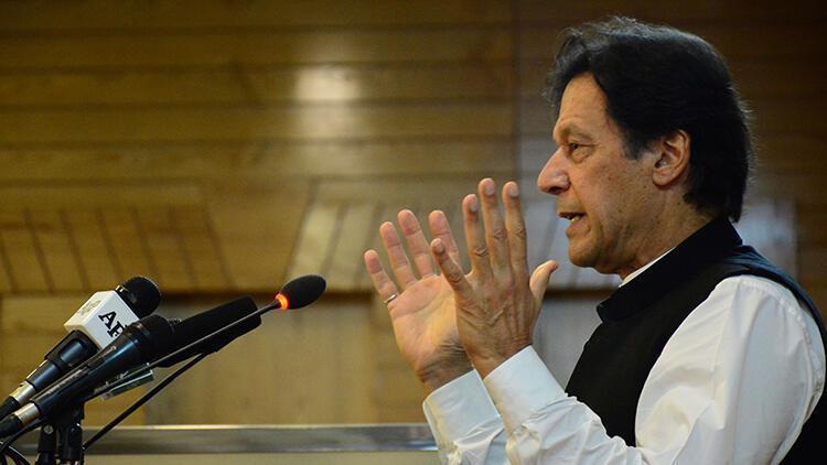 Son dakika... Pakistan Başbakanı Han'dan Keşmir açıklaması