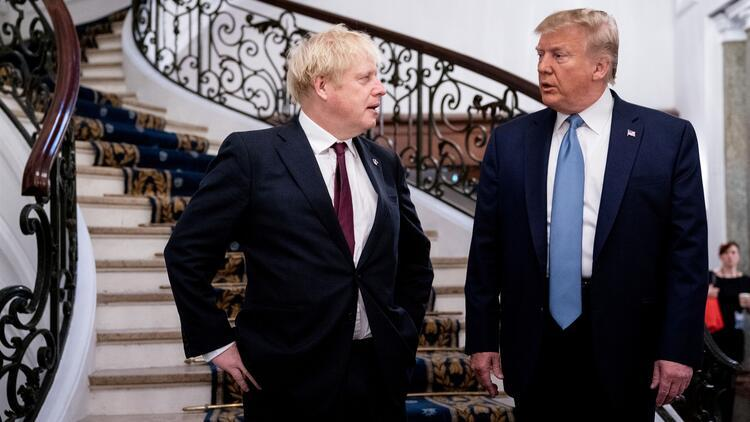 Trump ve Johnson bir araya geldi