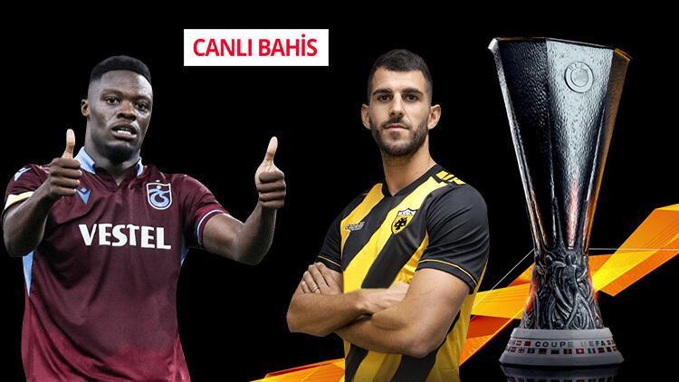 Türk takımlarına CANLI BAHİS başlıyor! Trabzonspor'un iddaa oranı...
