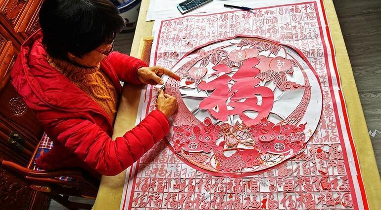 Bin yıllık Çin geleneği: Kağıt kesme sanatı