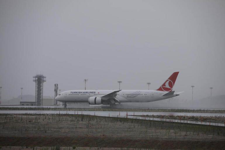 THYnin ikinci rüya uçağı İstanbula geldi