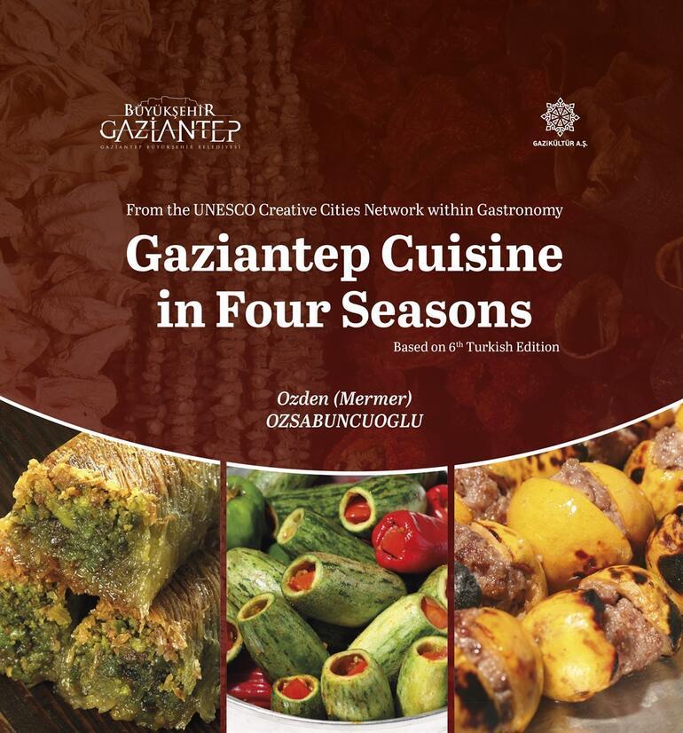 Gaziantep yemekleri kitabı dünya ikincisi oldu