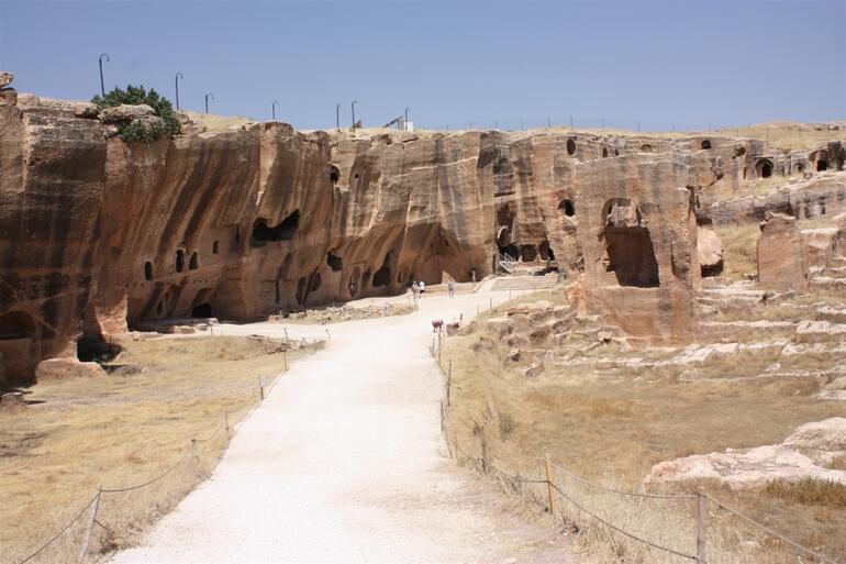2300 yıl öncesine dayanıyor... Havadan görüntülendi