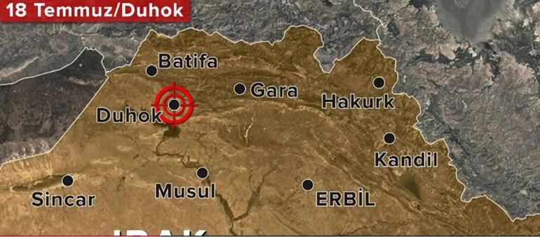 Son dakika gelişmesi Şehit diplomatın kanı yerde kalmadı... Kuzey Irakta iki nokta operasyon