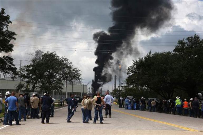 ABDde büyük yangın 6 yaralı