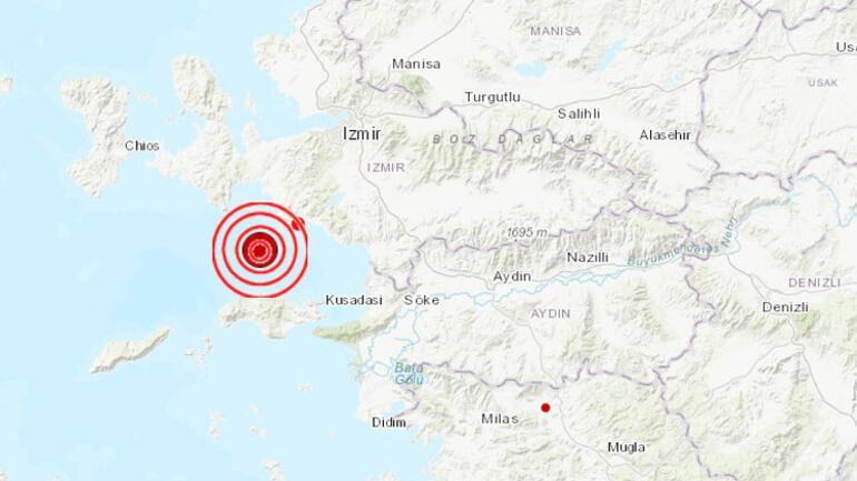 Son dakika… Egeyi sarsan deprem İzmirde büyük panik yaşandı....