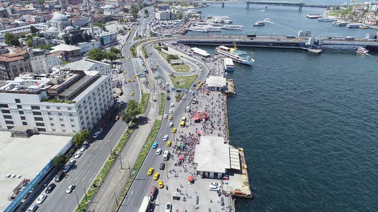 Duyuru yapıldı... İstanbulda kalanlar oraya akın etti