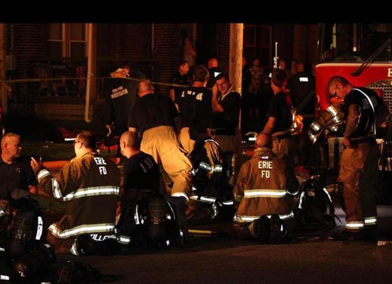 ABDde korkunç olay 5 çocuk yanarak can verdi