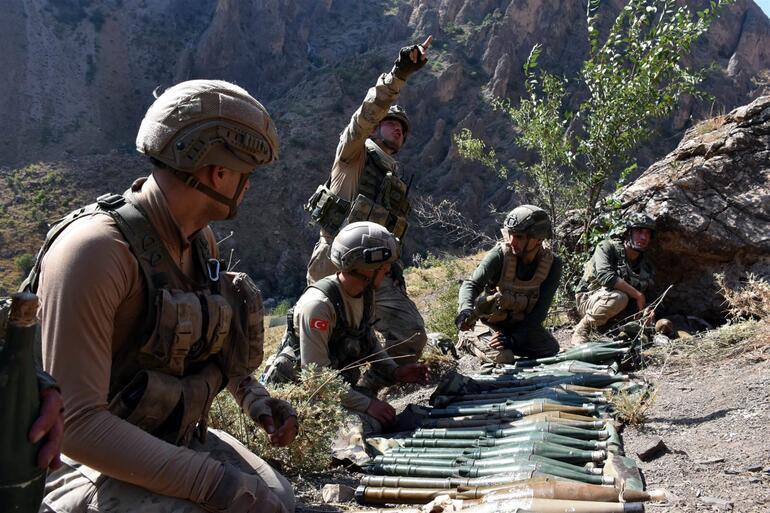 Kıran Operasyonunda terör örgütüne darbe