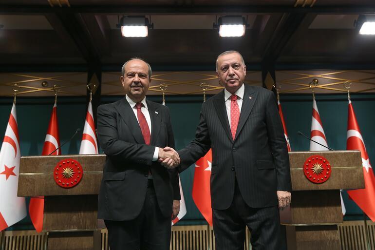 Cumhurbaşkanı Erdoğandan Doğu Akdeniz mesajı: Aynı kararlılıkla devam edeceğiz