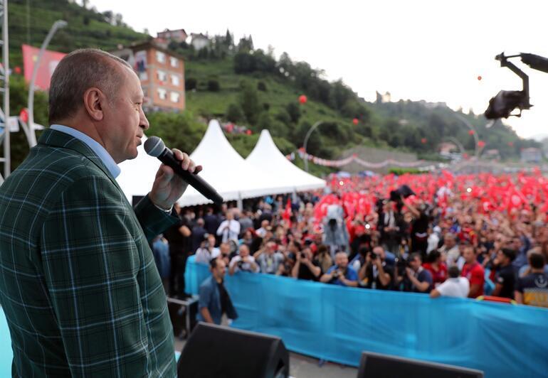 Cumhurbaşkanı Erdoğan müjdeyi verdi: 1,5 yıl içinde hizmete alınacak