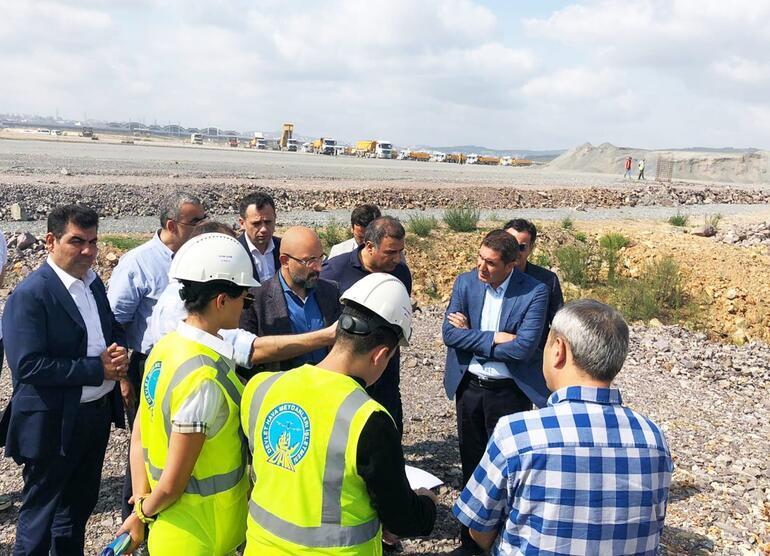 Sabiha Gökçen Havalimanı'nda ikinci pistin yapımı sürüyor