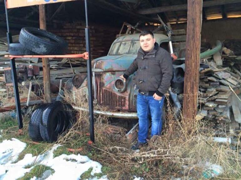 Hurdaları restore ediyor Ancak satmak için şartı var...