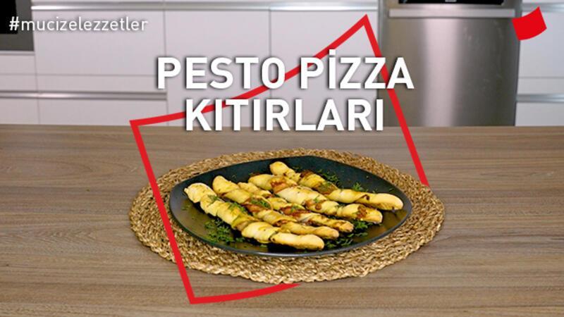 Pesto Pizza Kıtırları | Mucize Lezzetler