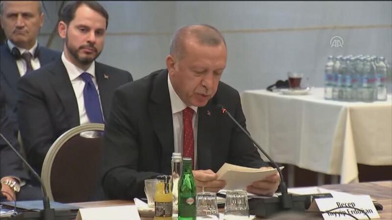 Erdoğan'dan AB'ye göçmen eleştirisi