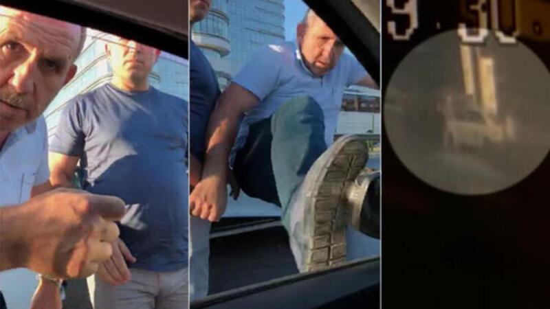 Pendik'te trafik magandası dehşetinden yeni görüntüler