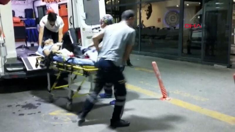 Döner bıçağı ile dehşet saçtı 2'si ağır 3 yaralı