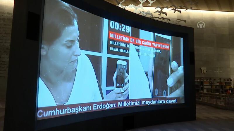 """""""Hafıza 15 Temmuz Müzesi"""" açıldı"""