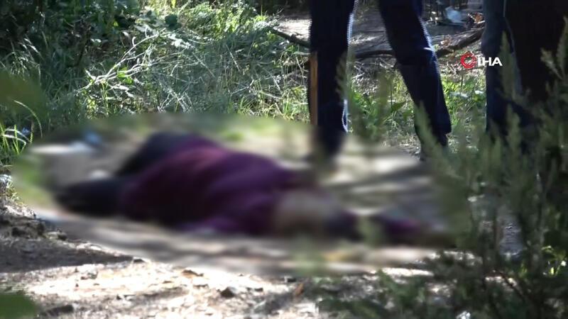 Aydos Ormanı'nda kadın cinayeti