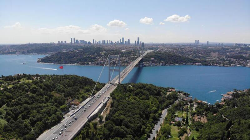 FSM Köprüsü'nde birinci etap tamamlandı